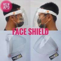FACE SHIELD APD - pelindung wajah helm apd corona anti virus covid 19