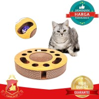 Mainan Garukan Kucing Premium + Bola Interactive Toy