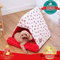 Tempat Tidur Rumah Anjing Kucing Hewan / Pet Tent House