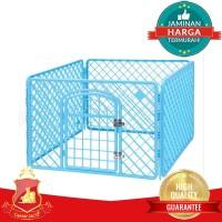 Kandang Pagar Plastik Anjing Kucing Kelinci Hewan - Pet Cage Premium