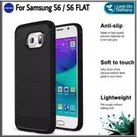 Case Samsung Galaxy S6 S6 FLAT Soft Case Casing Premium Edition Cover