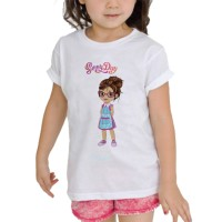 Kaos Baju anak Custom Sunny day sd01