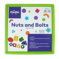 Nuts and Bolts, set of 32