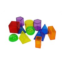 Geoblox Clearview, set of 12
