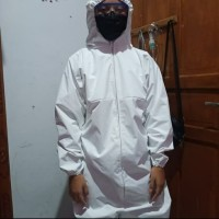 baju APD bahan parasut impor bisa dicuci