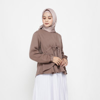 KYOYA Dilara Magenta Top - Brown, All Size