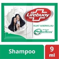 Shampo Lifebuoy Sachet Hijau Strong & Shiny Renceng / 12 Pc