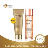 Bio Essence Bio-Gold Rose Gold Water 100Ml + FREE Cleanser