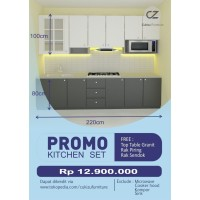 "Kitchen Set Jakarta Promo ""Free Top Table Granit"""