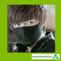 Masker City Hunter Lee Min Ho Aksesoris Fashion Mask KPOP Korea Masker