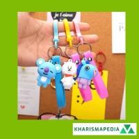 KPOP BTS Gantungan Kunci Boneka Keychain