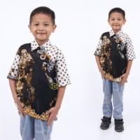 baju anak laki laki hem batik anak cowok