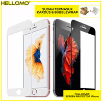 Tempered Glass 5D iPhone 6 6S 6+ 6S+ 7 8 8+ X XS XR XS MAX Full Cover - 11 PRO MAX