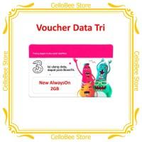 Three / Tri Voucher Data AlwaysOn 2GB - CelloBee