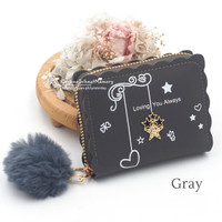 DOMPET WANITA DD18+POM2 KOREAN FASHION TRENDY FASHION WALLET REAL PIC