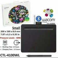 Wacom Intuos CTL-4109WL with Bluetooth Drawing Tablet