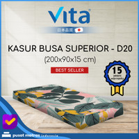 Kasur Busa Vita Tinggi 15 cm - Superior (200x90x15) - Single