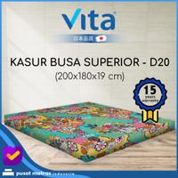 Kasur Busa Vita - (200x180x19) Superior King - Japan Quality