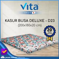 Kasur Busa Vita - (200x180x20) Deluxe King - Japan Quality