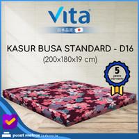 Kasur Busa Vita - (200x180x19) Standard King - Japan Quality