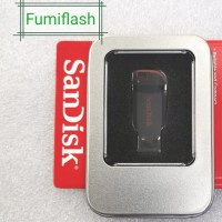 KOTAK KALENG FLASHDISK SANDISK USB CRUZER BLADE