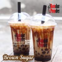 Brown Sugar Cair 1kg - Gula Aren Cair Pouch 1kg - Bandar Powder