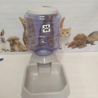 Tempat Makan Minum Anjing Kucing 3.8L Dispenser Minum Makan Kucing