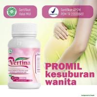 Vertina..herbal penyubur kandungan dan lancar haid