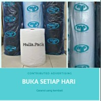Bubble buble wrap buble hitam pelastik gelembung