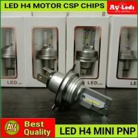 Lampu Led Motor Mobil H4 CSP Chips Cut Off Model Hi Low