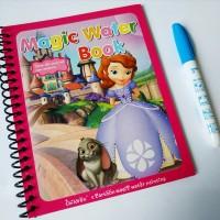 Buku Aktivitas Anak Mewarnai Pen Air: Sophia