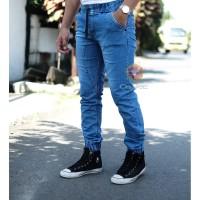 celana Jogger jeans pria celana Jogger terbaru 07