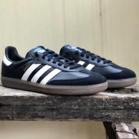 Sepatu Sneakers Casual Pria adidas Samba OG Black/White Original Resmi - 6.5