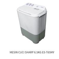 MESIN CUCI SHARP 6.5KG ES-T65MW