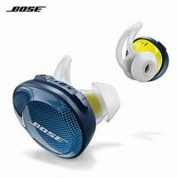 original bose soundsport free truly wireless earphone sound sport-biru
