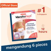 MenstruHeat (6pcs) Pereda Nyeri Haid Alami