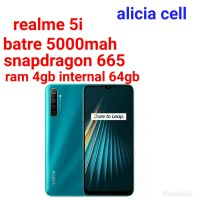 realme 5i 4/64 ram4gb internal 64gb
