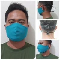 Masker Mulut Bahan Kain Unisex Model Duckbill Adjustable