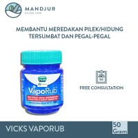Vicks VapoRub 50 Gr - Balsem Pelega Pernafasan & Hidung Tersumbat