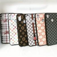 Vivo Y91 / Y93 Y95 Silikon Case TPU Branded Leather LV Chanel & Gucci