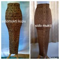 rok plisket batik murah