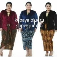 kebaya Bludru Big Jumbo ( LD 130, 140)