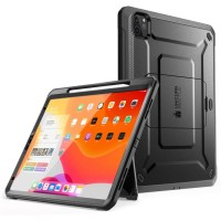 Case iPad Pro 12.9 2020 SUPCASE UB Pro Apple Pencil Compatible - Black