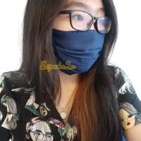 Masker Kain Katun Bolak Balik / Cotton Mask / Bisa Cuci /Warna Costume