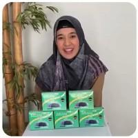 Daleman Hijab - Ciput Topi Sehat Miracle Bio IR - Ion Negatif Ori - Hitam, All Size