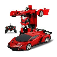 Mobil Remot Control Anak Robot Transformation
