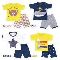 Setelan Baju/Kaos Celana Anak Bayi Cowok Laki Laki dan Cewek/Perempuan