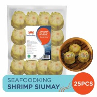 Shrimp Siumay Seafoodking (Siomay Udang Dim Sum) 500gr (25pcs)