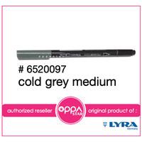 Lyra Aqua Brush Duo Duo Pen Cold Grey Medium # 6520097