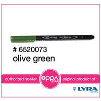 Lyra Aqua Brush Duo Pen Olive Green # 6520073